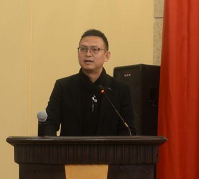 杭州千岛湖啤酒有限公司董事长郑晓峰和浙江文创